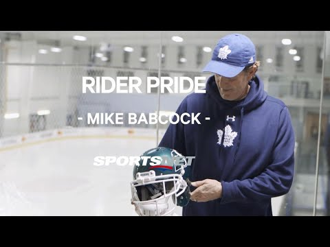 Mike Babcock and his beloved Saskatchewan Roughriders | Photographic Memories