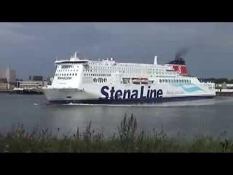 Port of Rotterdam 2011 Stena Hollandica at Hoek van Holland