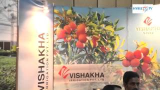 Vishakha Irrigation - Agriculture & Horticulture Exhibition - AgriHorti Tech India 2016