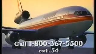 1996 Hawaiian Airlines Commercial