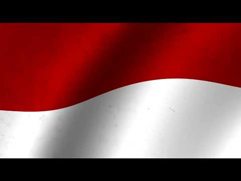 Animasi Bendera Merah Putih Loop 1 Youtube