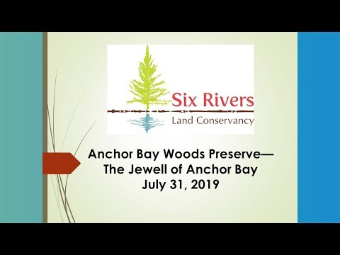 Lake St. Clair Appreciation Day: Chris Bunch - Six Rivers Land Conservancy   08 2019