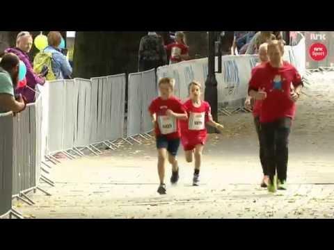 NRK Sport: Anders Scham 10 år fikk 2 plass i Oslo Maraton 2016