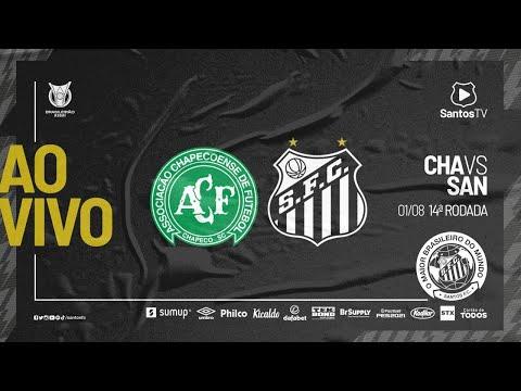 🔴 AO VIVO: CHAPECOENSE x SANTOS | BRASILEIRÃO (01/08/21)