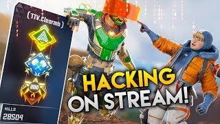 APEX STREAMER CAUGHT *HACKING* LIVE!! - Best Apex Legends Funny Moments and Gameplay Ep 158