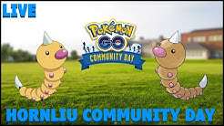 Community Day - Hornliu / Weedle - Pokemon Go [Live]