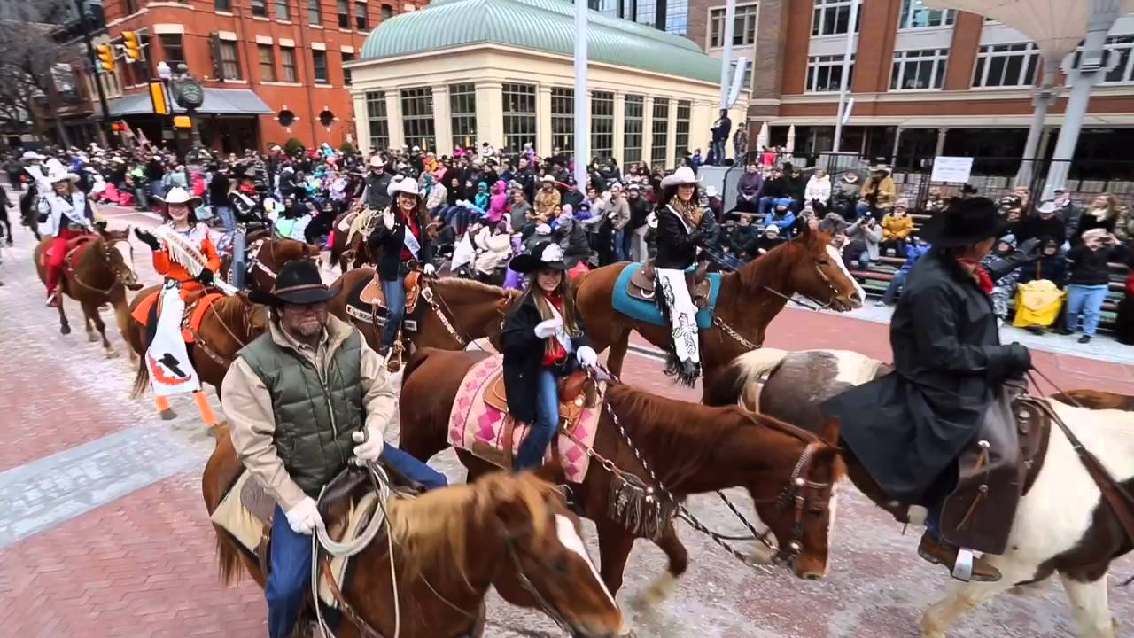 Fort Worth Stock Show All Western Parade Youtube