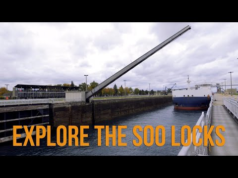 Explore The Soo Locks Of Sault Ste. Marie
