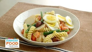 Farmers Market Pasta Nicoise Recipe - Everyday Food With Sarah Carey