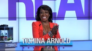 """Monday on """"The Real"""": Guest Co-Host Kym Whitley, Tichina Arnold"""