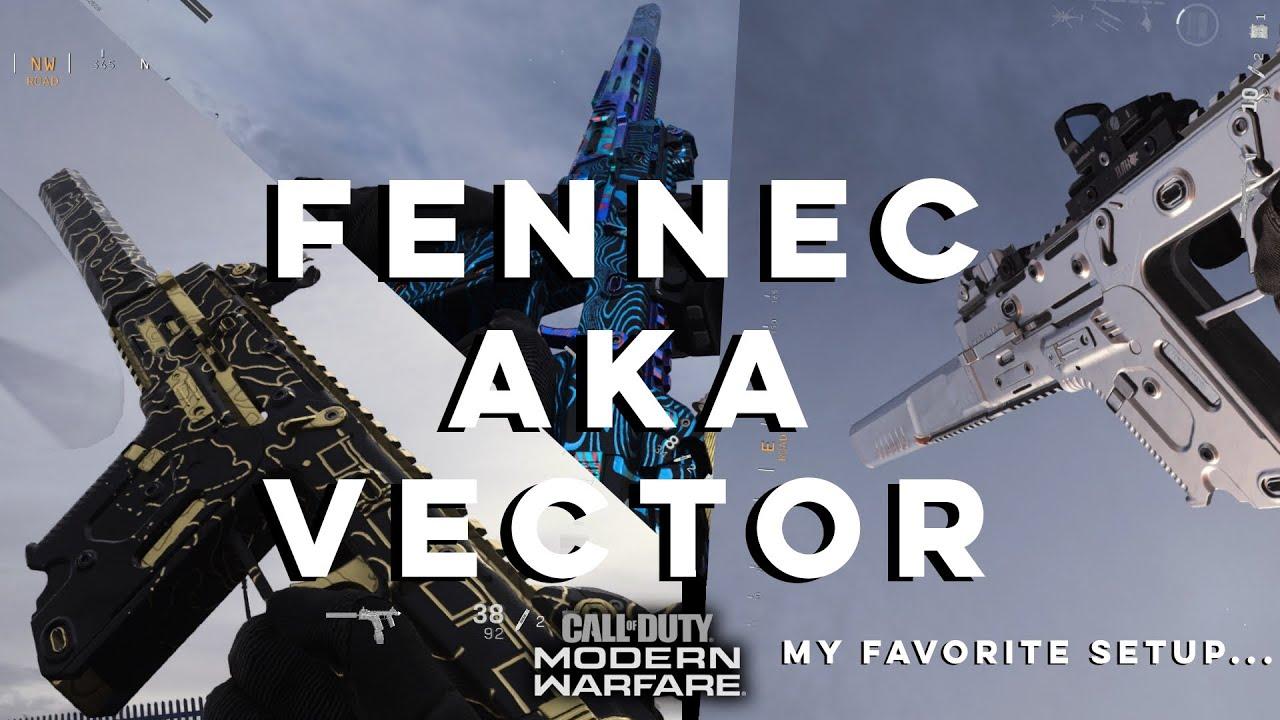 Fennec Aka Vector Call Of Duty Modern Warfare Season 4 Youtube