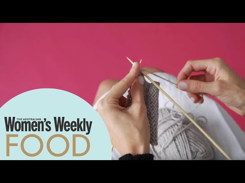 Knit Stitch How-to With The Australian Women's Weekly | Learn To Knit