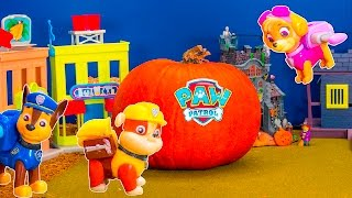 PAW PATROL Nickelodeon Paw Patrol andthe Pumpkin a Paw Patrol Video Parody