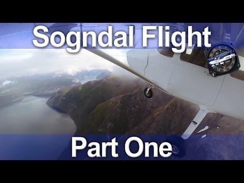 Norwegian C172 Flight - Sogndal Part 1