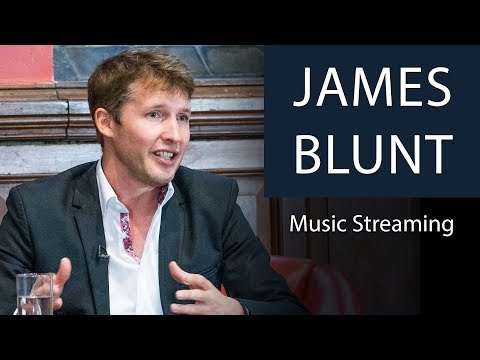James Blunt Reveals Earnings from Music Streaming   Oxford Union