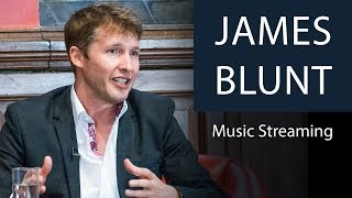 James Blunt Reveals Earnings from Music Streaming | Oxford Union