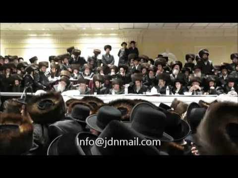 Pshevorsk - Satmar Wedding - Shevat 5776