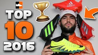 Top 10 Boots of 2016 - Best Soccer Cleats