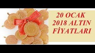20,01,2018 Altın Fiyatları Dolar Fiyatları Euro Ne Kadar Sterlin Kaç Lira
