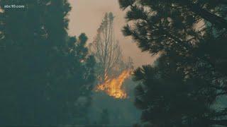 Tamarack Fire explodes to 21,000 acres, no containment
