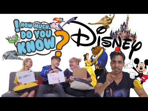 How Much Do You Know - Disney