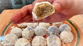 how to make Mexican Wedding Cookies (Easy Steph by Steph) | Views Recipe
