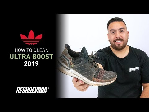 The Best Way To clean 2019 Multicolor Ultraboost With Reshoevn8r! Featuring Jonny Bubbles.