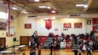 Yale Ballroom Dance Competition 2014 - Newcomer Rhythm Cha Cha - Heat 1