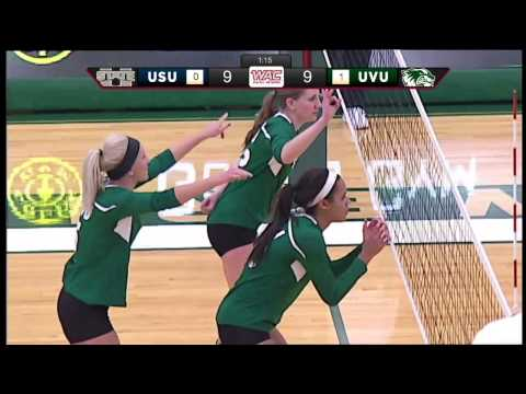 NCAA Volleyball: Utah State University at Utah Valley University