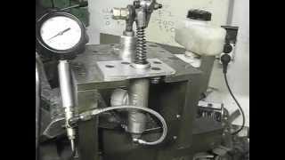 Test tarage injecteurs mécaniques