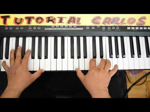 Bienvenido Espiritu Santo (pentecostes) Miel San Marcos Piano Tutorial Carlos