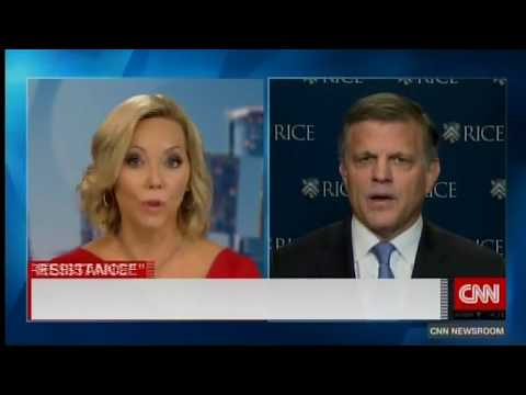 Rice University's Douglas Brinkley discusses anonymous NYT op-ed on CNN International (No.2)