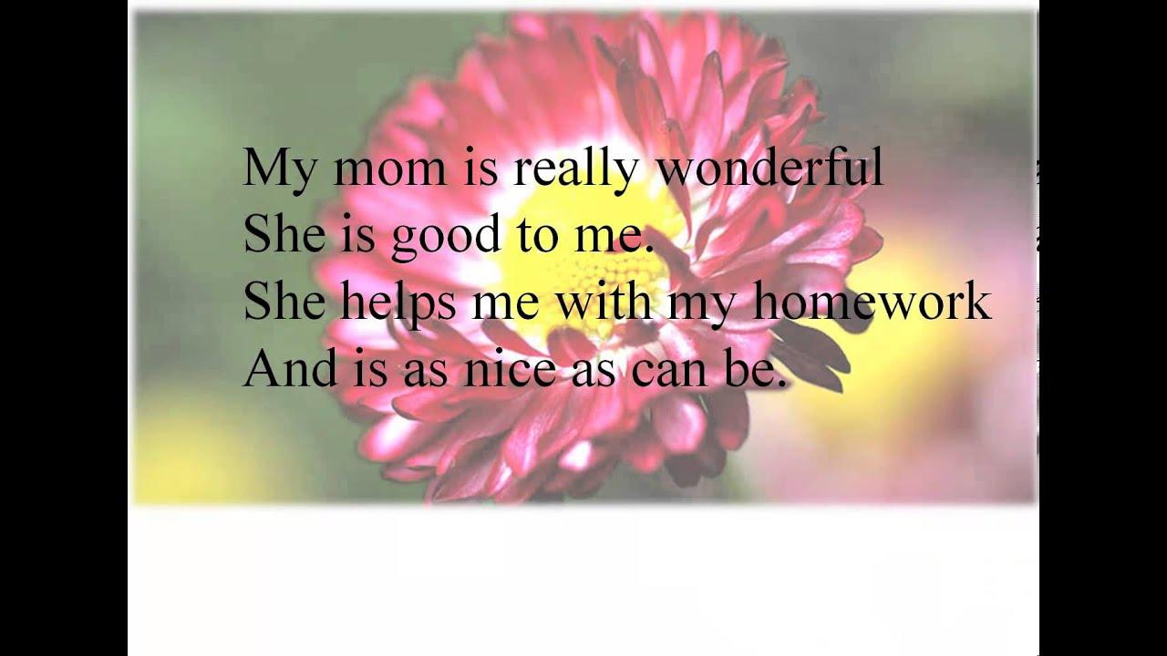 Открытка для мамы на английском языке 3 класс
