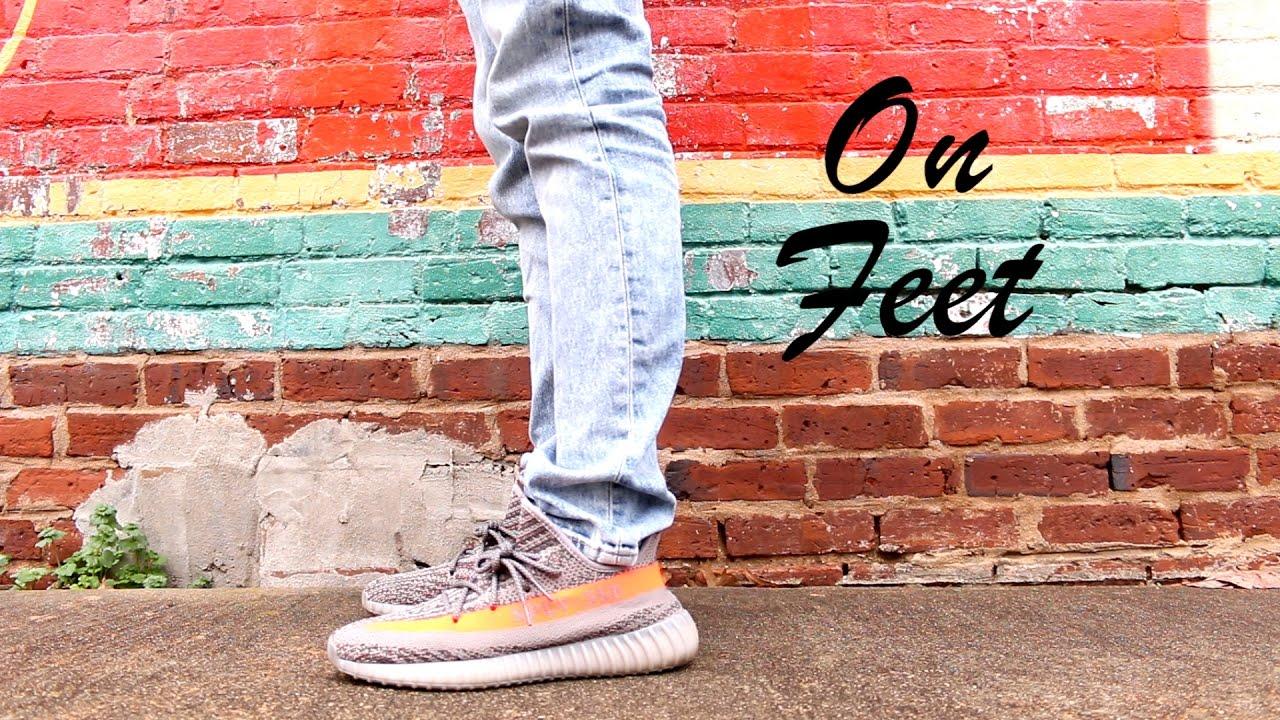 723f8873063 Yeezy 350 V2 Beluga On-Feet - YouTube