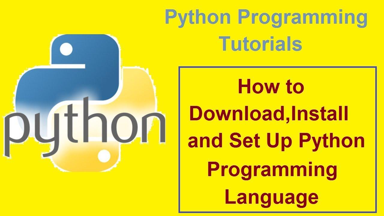 Python programming tutorials 1 installing python 3. 4. 3.