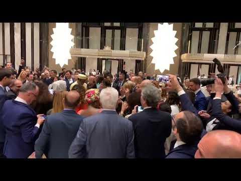Лидеры Франции, Канады и Монако танцуют в Армении (2)