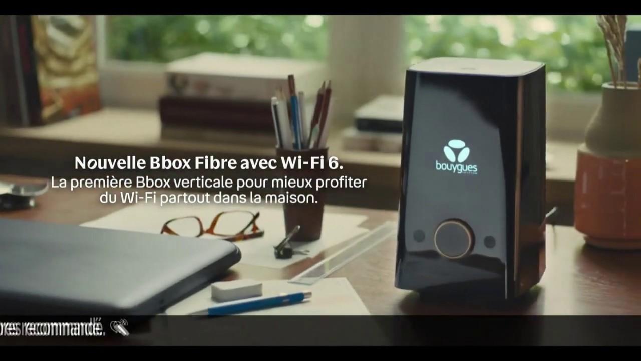 """Musique de la pub Nouvelle BBox Fibre Wi-Fi 6 Bouygues Telecom """"la 1ère BBox verticale pour mieux profiter""""  2021"""