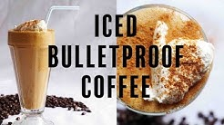 Iced Keto Coffee Recipe   Bulletproof Coffee Smoothie