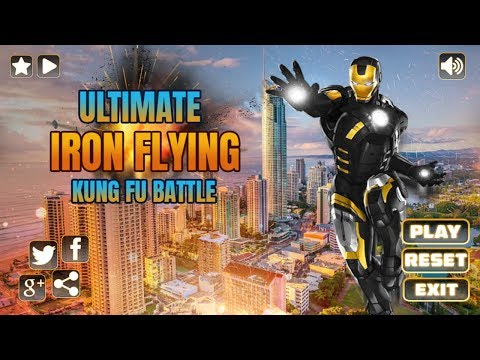 Ultimate Superhero Flying Iron City Rescue Mission Android Gameplay