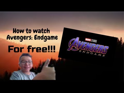 How To Watch Avengers: Endgame For Free!!!