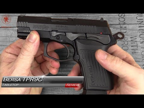 New Bersa TPR9C Tabletop Review and Field Strip