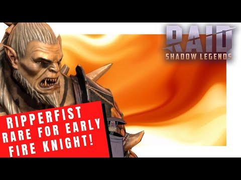 RSL - Ripperfist - Early Fire knight Rare!