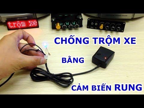 Cảm Biến Rung Chống Trộm Xe Máy ÔTÔ Tết Canh Tý 2020 - [LinhkienViet.vn]