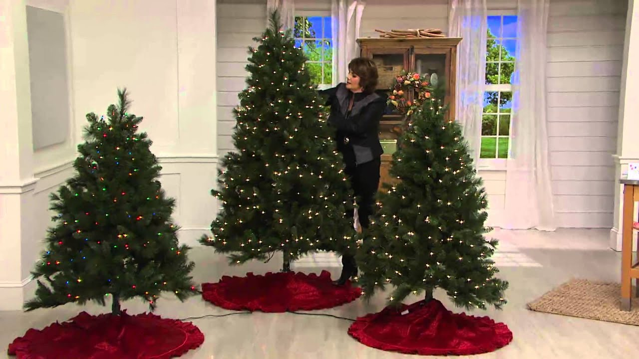 bethlehem lighting christmas trees. Bethlehem Lights 6.5\u0027 Trevor Pine Christmas Tree W/Instant Power With Jill Bauer - YouTube Lighting Trees T