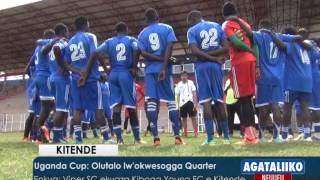 SPORTS: Uganda Cup: Olutalo lw'okwesogga Quarter