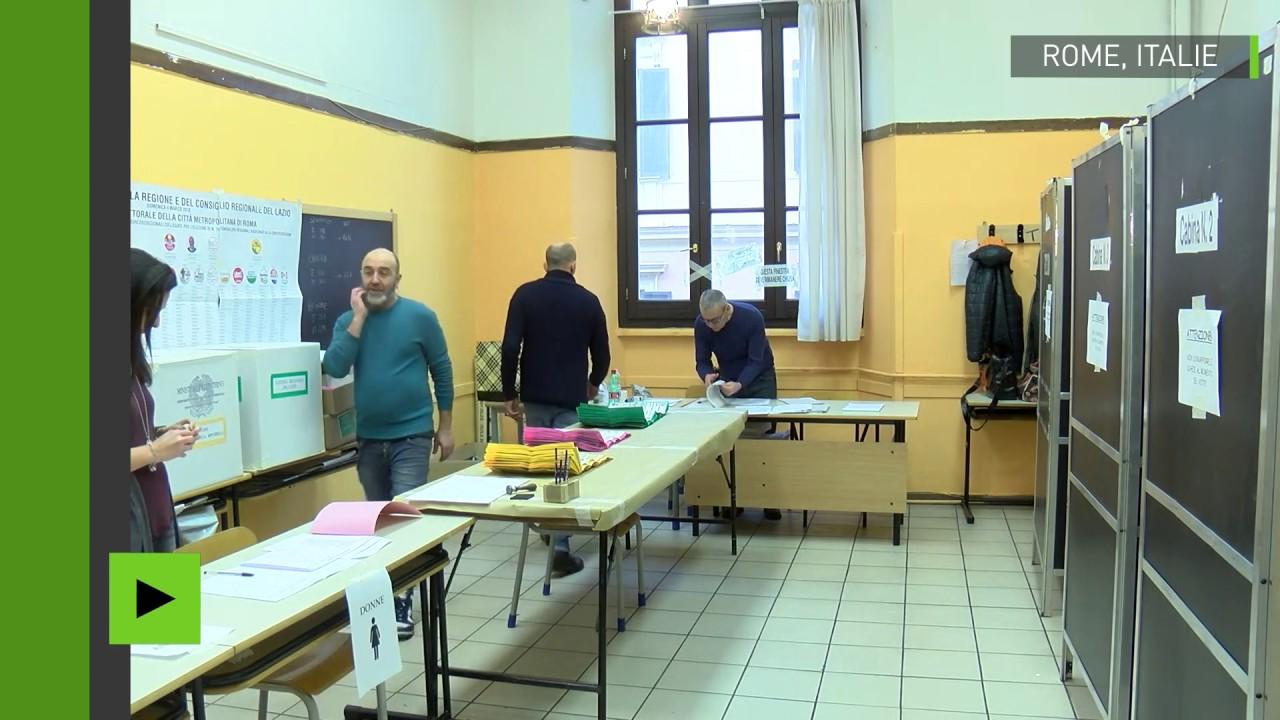 En italie les bureaux de vote ouvrent pour les élections