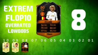 EXTREM FLOP10 OVERRATED PLAYERS IN FIFA 17