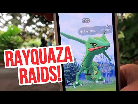 The BEST Dragon Attacker is BACK! Rayquaza Raids in Sydney - Pokémon GO thumbnail