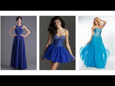Top 100 blue dresses, blue prom dresses for women