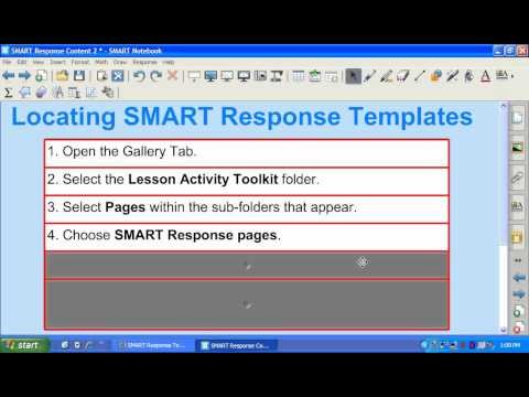 SMART Response Templates Part 1.wmv
